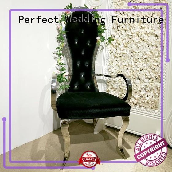 Perfect Wedding Furniture Custom queen throne chair company for wedding ceremony