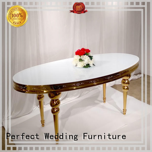 durable wedding table dressing rectangle wholesale for hotel