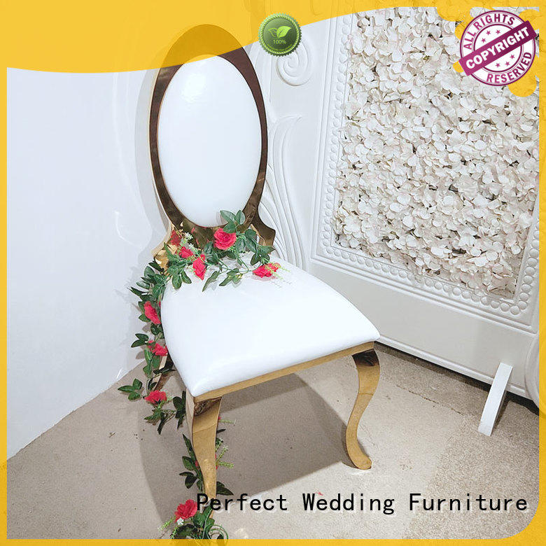 Perfect Wedding Furniture high quality wedding chairs for bride and groom supplier for wedding ceremony