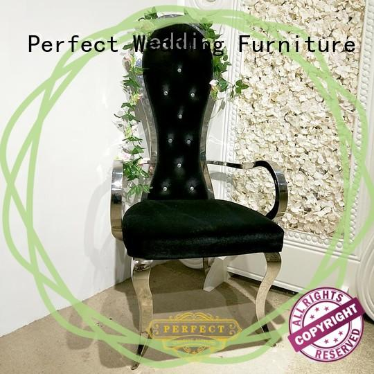 Perfect Wedding Furniture high quality king and queen chairs for weddings series for hotel