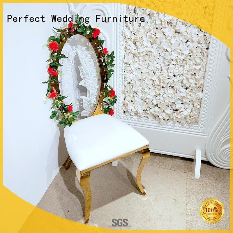 Perfect Wedding Furniture gold wedding chairs in the waiting areas for hotel