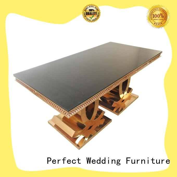 Perfect Wedding Furniture customized wedding table design manufacturer for wedding ceremony