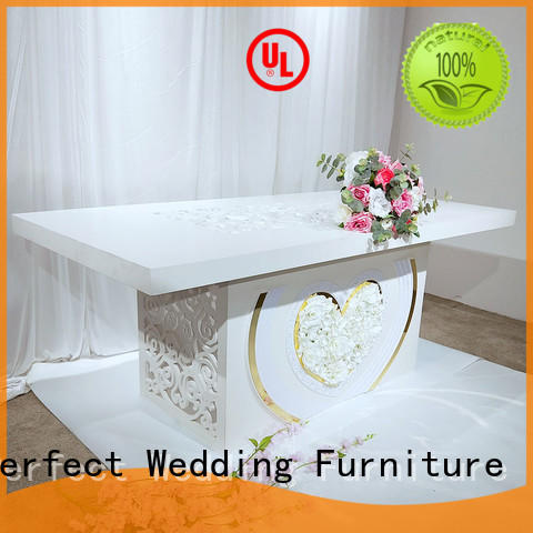 big wedding party dining table in various sizes for hotel Perfect Wedding Furniture