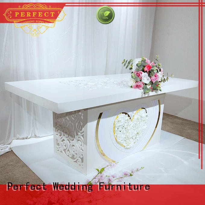 Perfect Wedding Furniture durable wedding table manufacturer for dining room