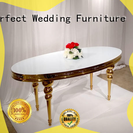 Perfect Wedding Furniture High-quality wedding reception table manufacturers for hotel