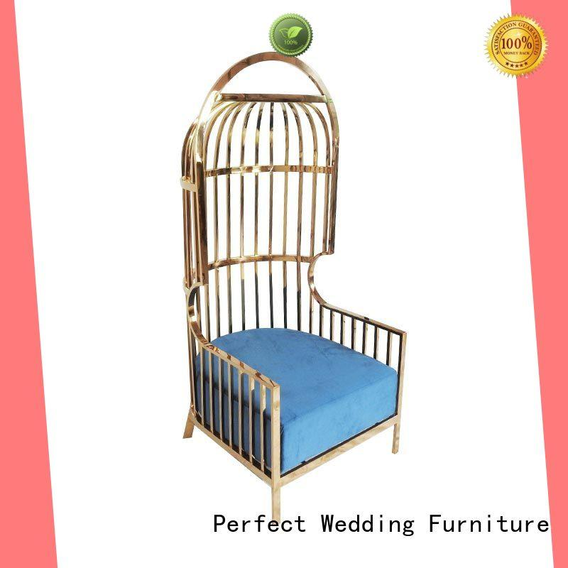 Perfect Wedding Furniture relaxing royal throne chair manufacturer for hotel