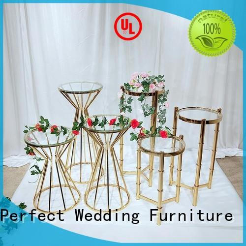 floral stand stand for hotel Perfect Wedding Furniture