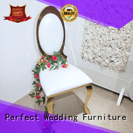 High-quality catering chairs laser factory for wedding ceremony