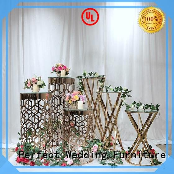 tall floral stand beautiful for wedding ceremony Perfect Wedding Furniture
