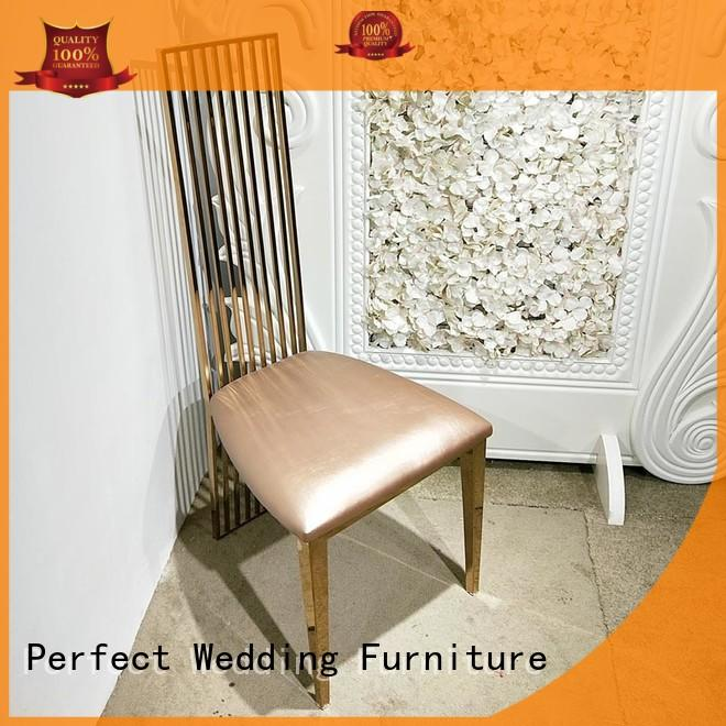Perfect Wedding Furniture durable catering chairs manufacturer for hotel
