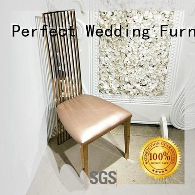Perfect Wedding Furniture durable bridal chair back for wedding ceremony