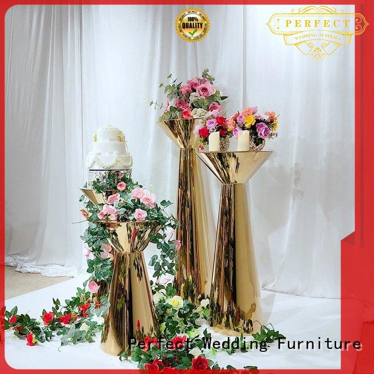 Perfect Wedding Furniture Top floral stand factory for hotel