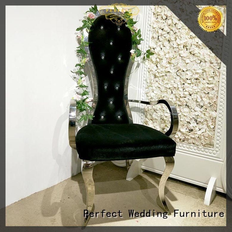 Perfect Wedding Furniture relaxing royal throne chair supplier for hotel
