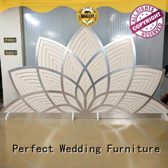 Perfect Wedding Furniture pvc wedding screen decorations company for home