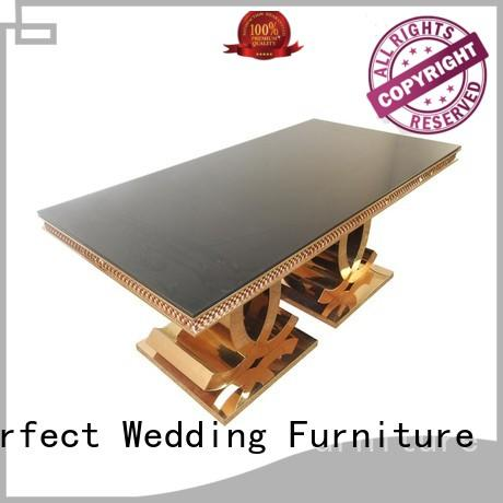 Perfect Wedding Furniture high quality wedding table design manufacturer for wedding ceremony