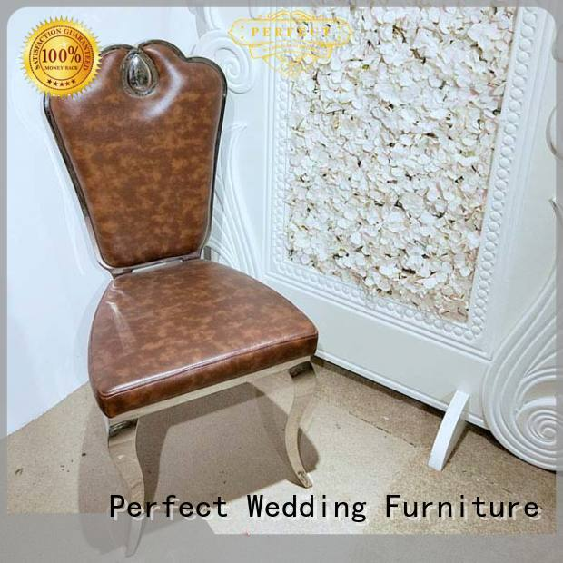 durable wedding chair leather wholesale for hotel