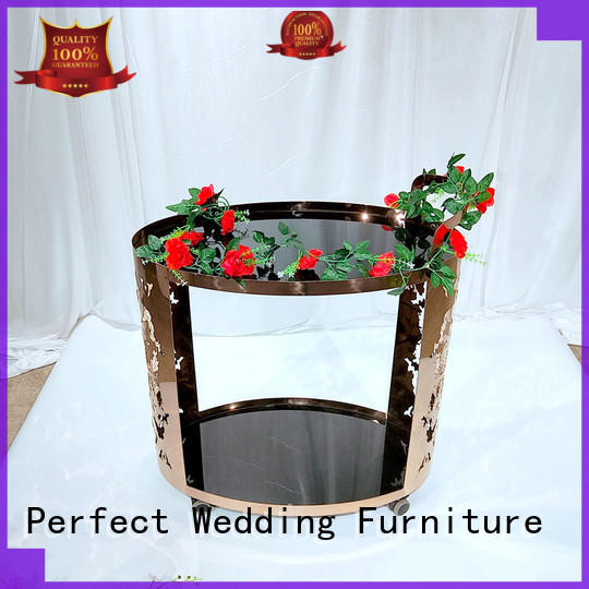 Perfect Wedding Furniture dining rolling bar cart manufacturers for home