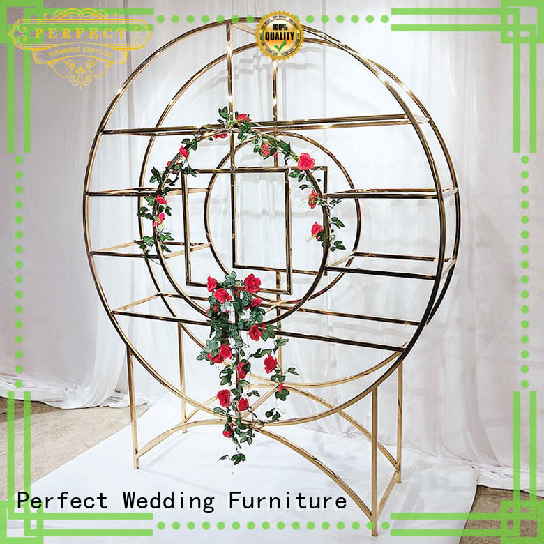 stainless large decorative shelves to accommodate for wedding ceremony Perfect Wedding Furniture