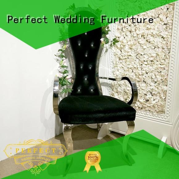 Perfect Wedding Furniture traditional high back king chair relaxing for wedding ceremony