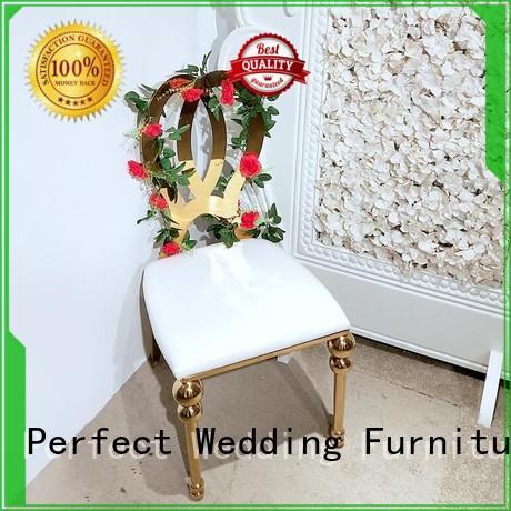 Perfect Wedding Furniture Custom wedding chair factory for wedding ceremony