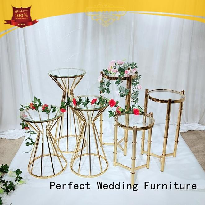 decorative wedding flower stand stand wholesale for wedding ceremony