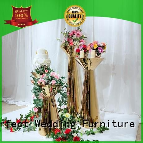 Perfect Wedding Furniture stainless wedding flower stand Suppliers for home