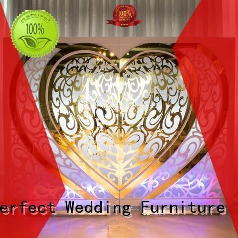 Perfect Wedding Furniture sliver decorative room dividers wholesale for hotel