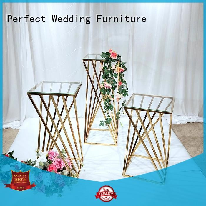 Perfect Wedding Furniture Latest flower stand Suppliers for wedding ceremony