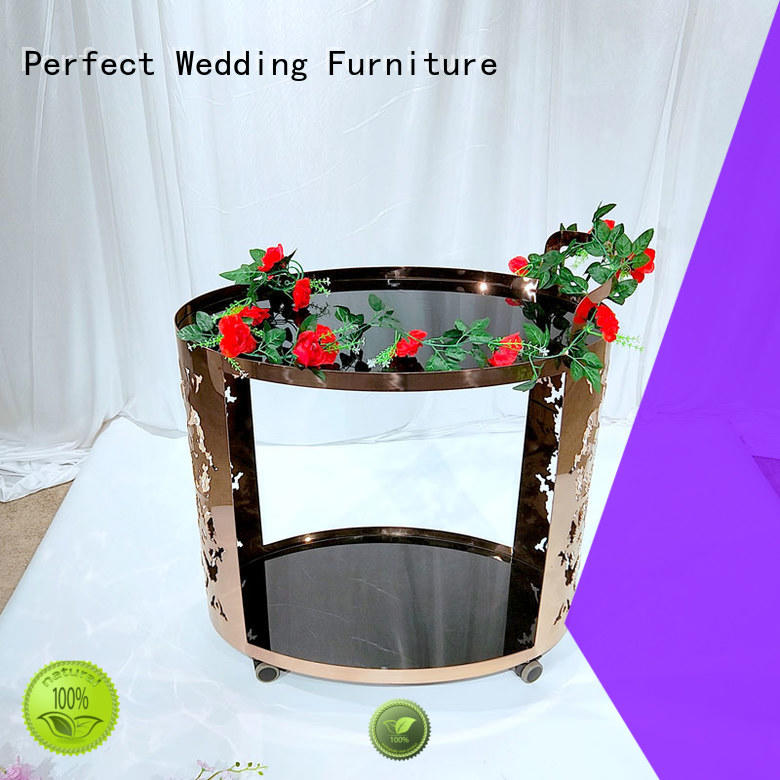 Perfect Wedding Furniture dining serving cart to meet your needs for wedding ceremony