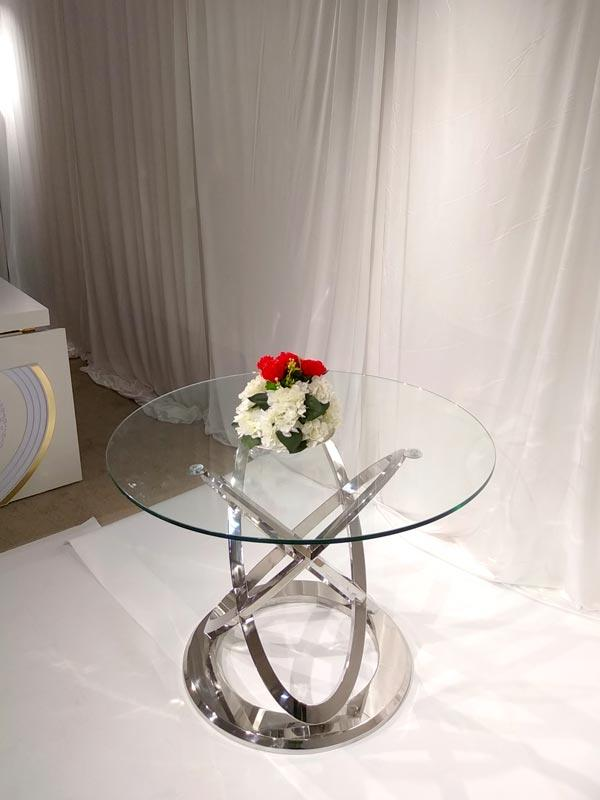 Perfect Wedding Furniture durable wedding top table ideas in various sizes for hotel-3
