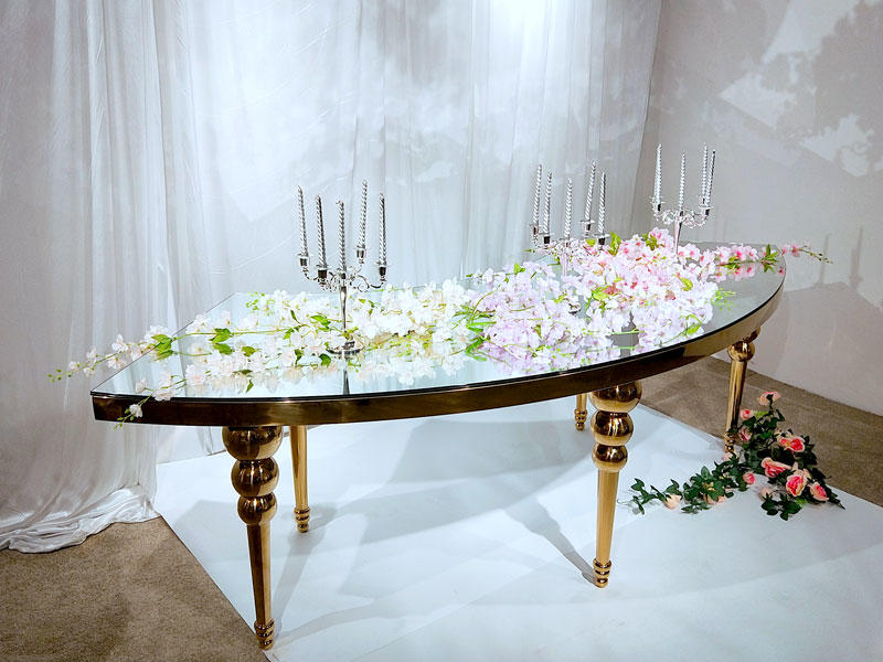 Custom wedding table dressing pvc manufacturers for dining room