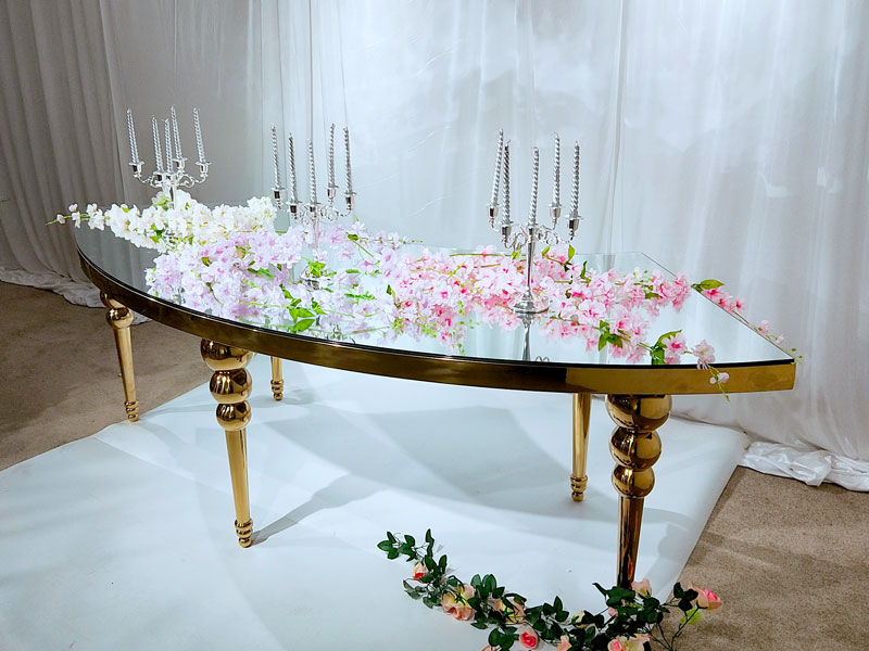 Custom wedding table dressing pvc manufacturers for dining room-4