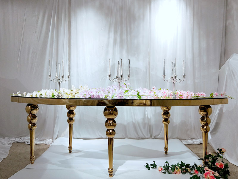 Custom wedding table dressing pvc manufacturers for dining room-5