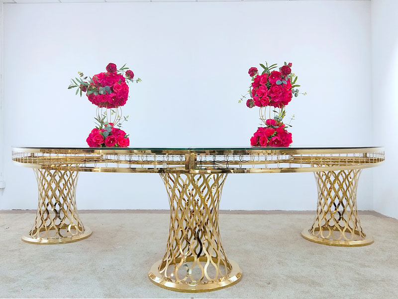Perfect Wedding Furniture Wholesale bridal table arrangements factory for dining room-3