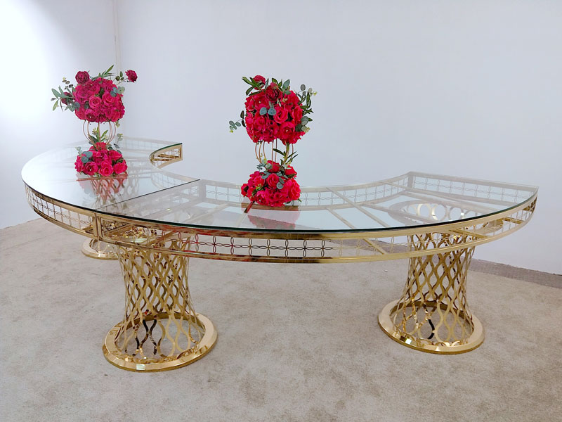 Perfect Wedding Furniture pvc wedding bridal table decorations manufacturers for hotel-4