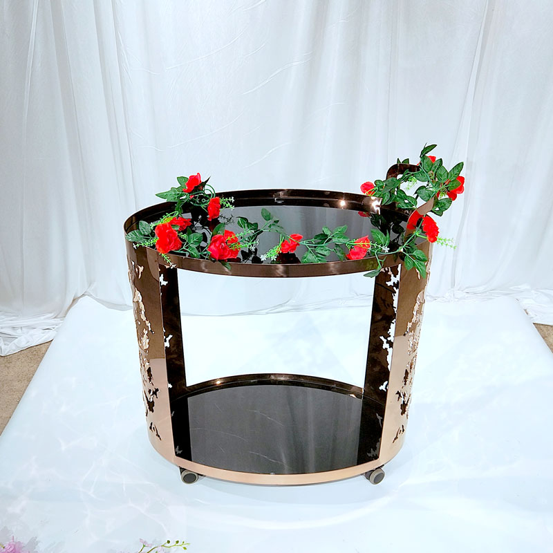 Perfect Wedding Furniture Best rolling bar cart company for wedding ceremony-1