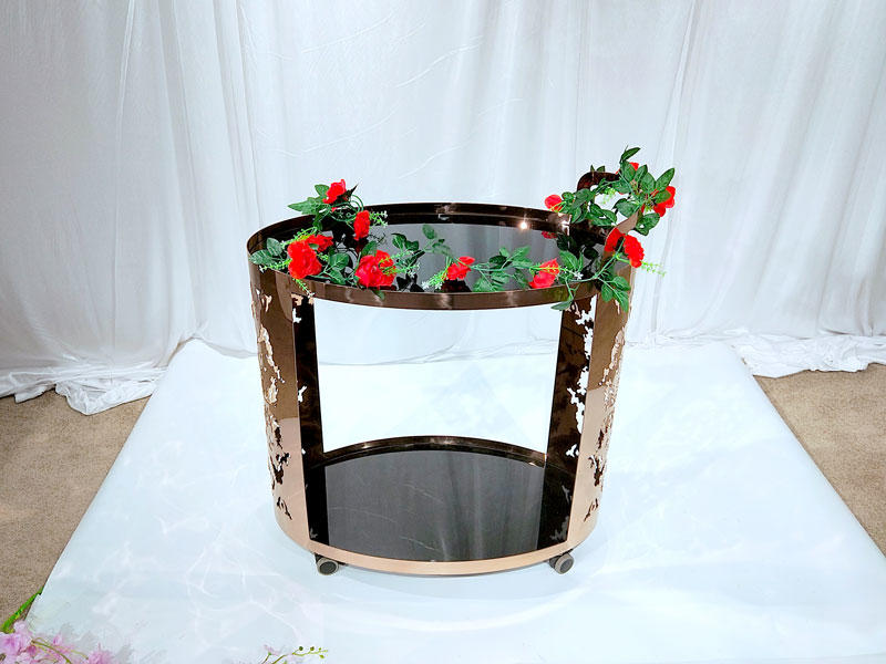 online metal tea trolley series for hotel