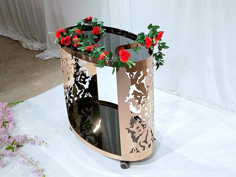 serving cart dining for hotel Perfect Wedding Furniture