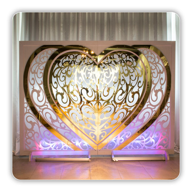 Perfect Wedding Furniture gold wedding screen decorations manufacturer for home