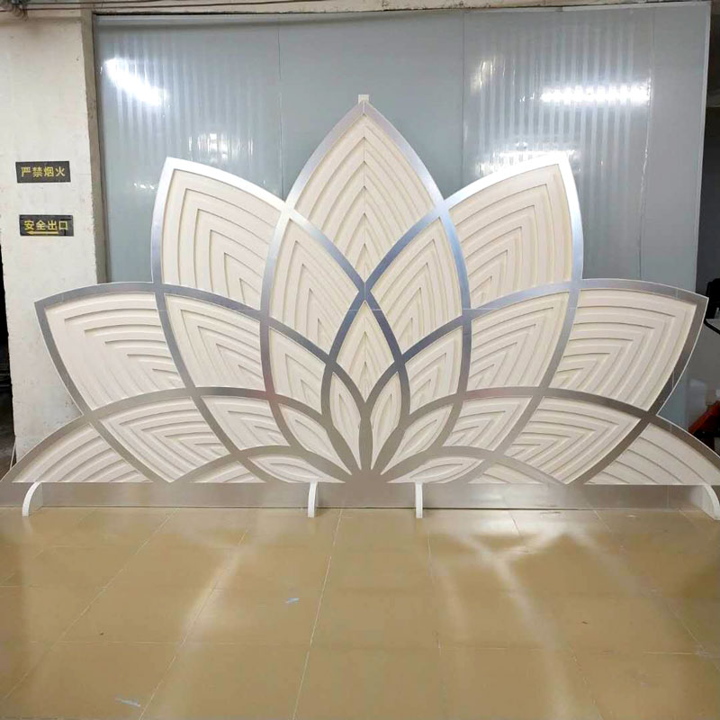Perfect Wedding Furniture sliver wedding screen partition manufacturers for home-1