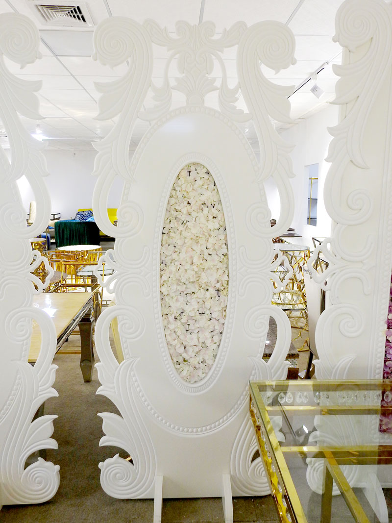 Perfect Wedding Furniture sliver wedding screen manufacturer for home-5