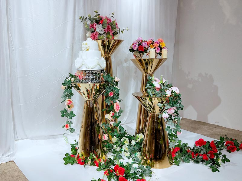 Perfect Wedding Furniture pedestal floral stand manufacturers for home-2
