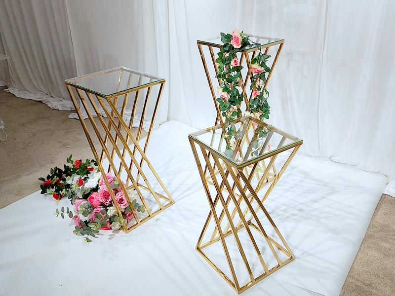 High-quality flower stand glass company for hotel-4