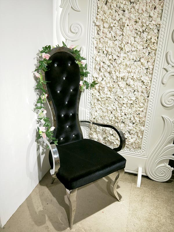 Custom king and queen chairs throne Supply for wedding ceremony-2
