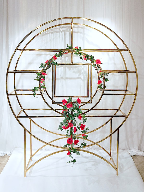 Perfect Wedding Furniture beautiful circle shelf Suppliers for indoors-2