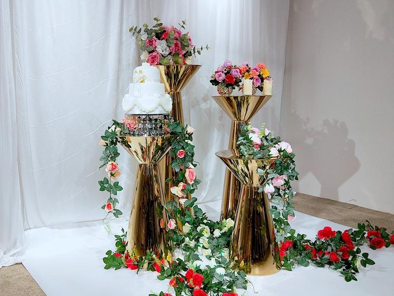 Perfect Wedding Furniture Top floral stand factory for hotel-2