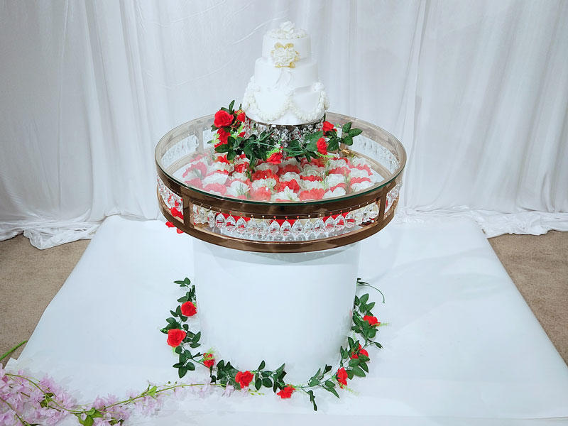 Wholesale wedding display table glass Suppliers for wedding ceremony-3