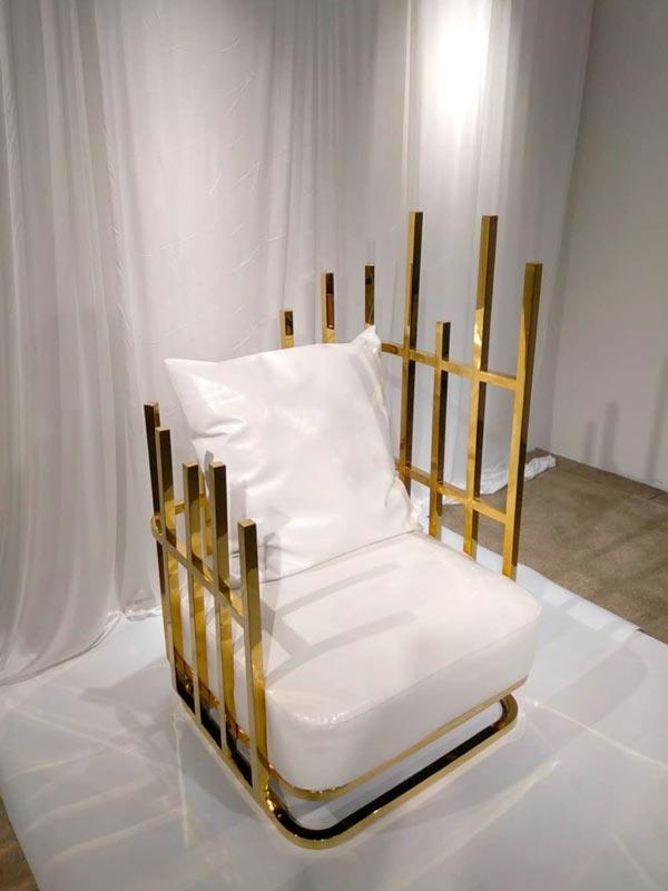 high quality wedding throne chair leisurely manufacturer for wedding ceremony-2
