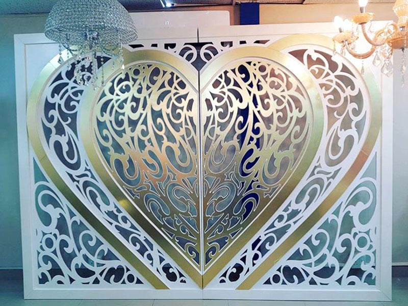 Perfect Wedding Furniture gold wedding screen decorations manufacturer for home-3