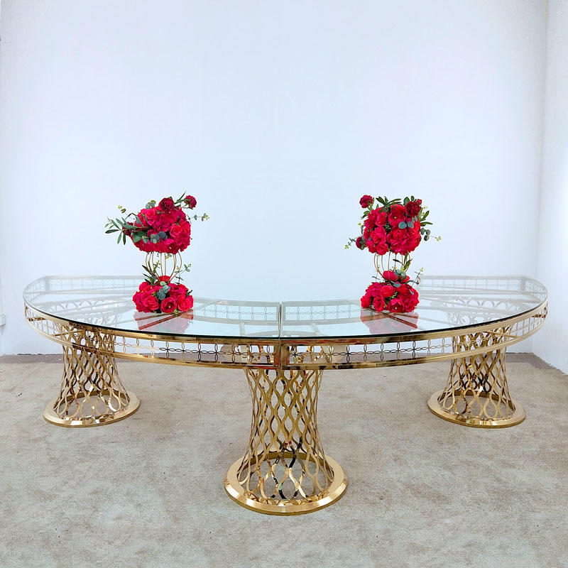Perfect Wedding Furniture round wedding party table in various sizes for hotel-1